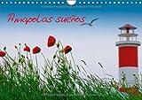 Amapolas sueños (Calendario de pared 2014 DIN A4 horizontal): En este calendario, el verano es capturado en su mejor forma. Amapolas en su ambiente colorido. (Calendario mensual, 14 Páginas)