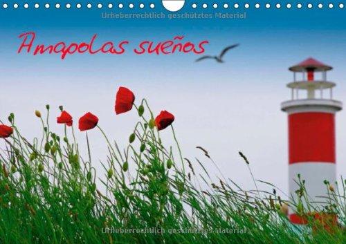 Amapolas sueños (Calendario de pared 2014 DIN A4 horizontal): En este calendario, el verano es capturado en su mejor forma. Amapolas en su ambiente ... colorido. (Calendario mensual, 14 Páginas)