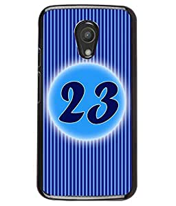 Printvisa 2D Printed Numerology Designer back case cover for Motorola Moto G2 - D4243