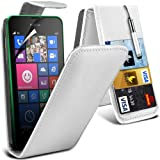 ( White ) Nokia Lumia 530 Hülle Abdeckung Cover Case
