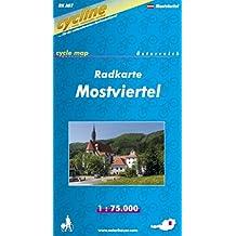 Cycline Radkarte Mostviertel. 1 : 75.000. Österreich, GPS-tauglich mit UTM-Netz