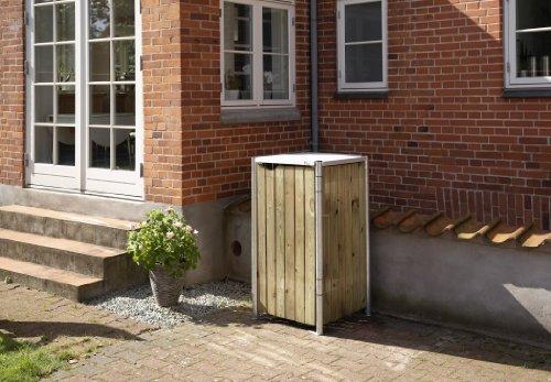 Mülltonnenbox für 240 Liter Tonnen - 2