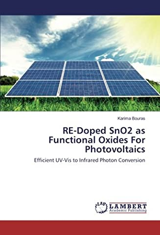 RE-Doped SnO2 as Functional Oxides For Photovoltaics: Efficient UV-Vis to