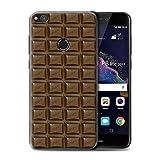Stuff4 Hülle / Case für Huawei P8 Lite (2017) / Dairy Milk Blocks/Slab Muster / Schokolade Kollektion