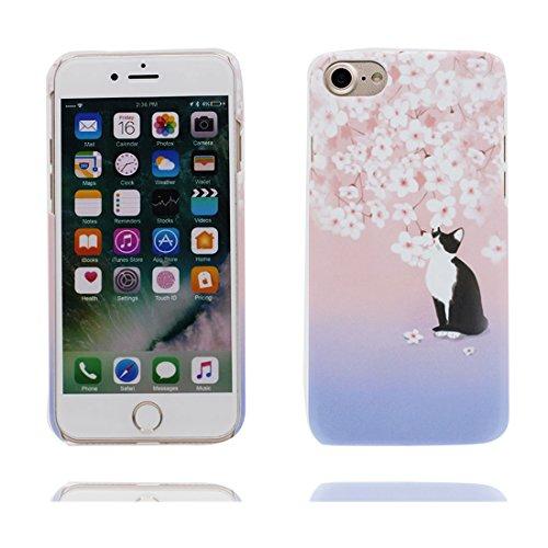 Custodia iPhone 6, iPhone 6s copertura case in Gel TPU Durevole flessibile Hard Cover iPhone 6S Case Graffi Resistenti - fiore Color 5