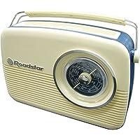 Roadstar TRA-1957/CR Personal Analógica Crema de color - Radio (Personal, Analógica, FM,LW,MW, 87,5 - 108 MHz, 150 - 285 kHz, 1,2 W)