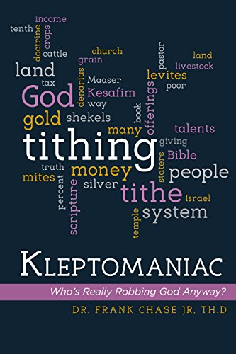 ebook: Kleptomaniac: Who's Really Robbing God Anyway? (B01G223H0Y)