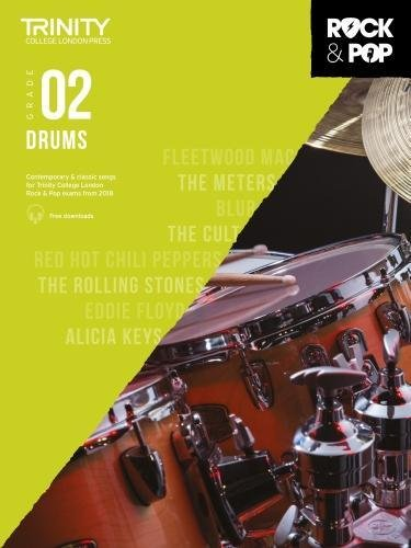 Trinity College London Rock & Pop 2018 Drums Grade 2 (Trinity Rock & Pop) por Trinity College Lond