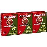Orlando Tomate Frito en Aceite de Oliva, Brik - Paquete de 3 x 210 gr - Total: 630 gr - [pack de 3]