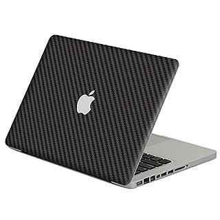 Charles Für MacBook Pro Retina 13 Inch Carbon Grey Series Full Body A + D Both Sides Skin Cover Film Sticker - Schwarz