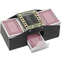 Gran–Mezclador de cartas automático–no más engaños. Gran Idea de regalo para alguien que le gusta jugar a las cartas, perfecto para Navidad, cumpleaños, madres/padres día