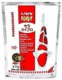 Sera 07033 KOI Professional Spirulina Farbfutter 2200 g - Das Profifutter für perfekte Farben, ideales Wachstum und gesunde Fische mit hohem Spirulina-Anteil (6,3%) ab 8°C