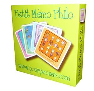 "Jeu memory ""Petit Mémo Philo"""