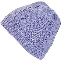Nuovo da donna a maglia Sherpa Foderato In Pile Cappuccio Donna Inverno Caldo Calore Cappello (Cappuccio Foderato Hat)