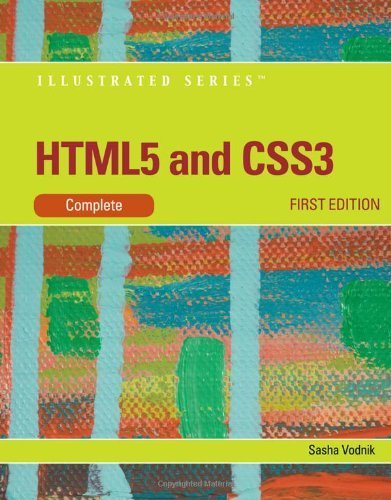 HTML5 and CSS3, Illustrated Complete (Illustrated (Course Technology)) by Vodnik, Sasha (2011) Paperback