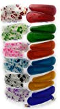 #4: Tic-Tac Hair Clips for Kids, 12 Pairs (24 Pcs), Mix Color