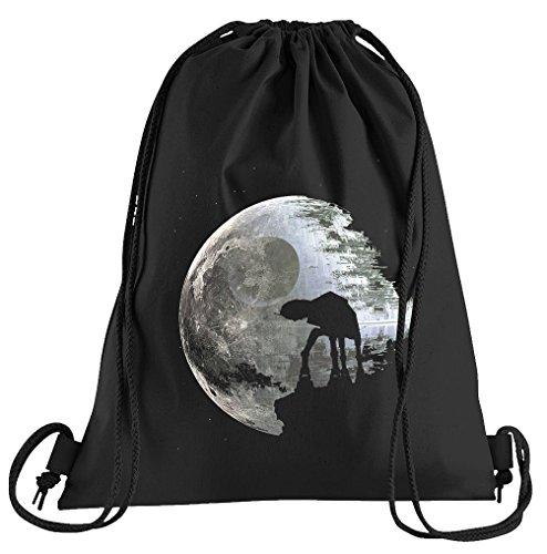 Moon at-at Sportbeutel - Bedruckter Beutel - Eine schöne Sport-Tasche Beutel mit Kordeln (Clone Wars Halloween Kostüme)