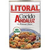 Litoral - Cocido Andaluz con Embutido Selecto - Pack de 3 x 425 g