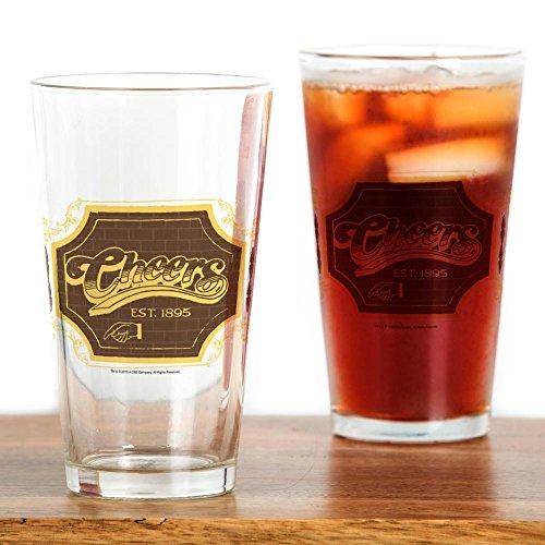 CafePress-Cheers Logo-Pint-Glas, 16oz Trinkglas farblos (Cheers Logo)