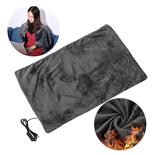 Electric Heated Blanket - Manta de Calefacción y Mantón para Mantener Caliente y Relax Rest - Seguridad45...