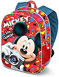 da2d3d173d Karactermania Mickey Mouse Say Cheese-mochila 3d (pequeña) Zainetto per  bambini 31 centimeters