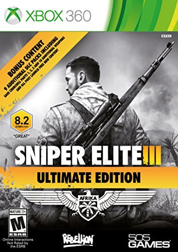 Sniper Elite III Ultimate Edition - Xbox 360 by 505 Games