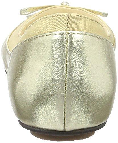 Buffalo - 207 3562, ballerine  da donna Oro (GOLD 01)
