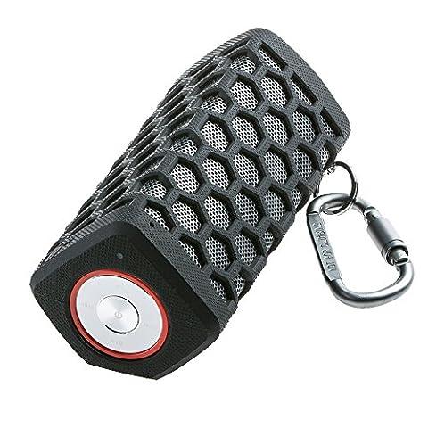 Hapyia Enceinte Bluetooth, Haut-parleurs Portable Sans fil étanche avec Fort