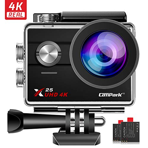Campark X25 Cámara Deportiva Ultra HD 4K 16MP WiFi
