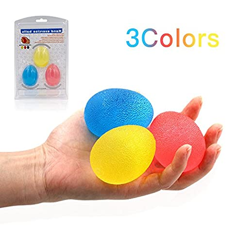 Eiförmige Griffbälle Handtrainer Nakeey eiförmig Griff-bälle der