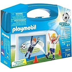 Playmobil Fútbol- Playmobil Playset, Miscelanea (5654)