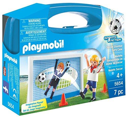 Playmobil Fútbol Playmobil Playset, Miscelanea (5654)