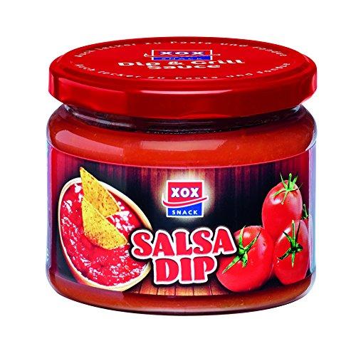 XOX Salsa Dip 300ml, 4er Pack (4 x 300 g)