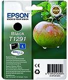 Epson T1291 Apfel, wisch- und wasserfeste Tinte (Singlepack) schwarz