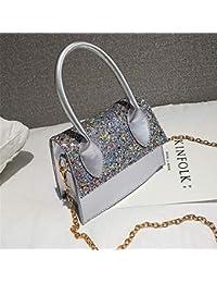 0f5800d2c8a9b CHAOBAOBAO Frauen Handtaschen Mode Pailletten Tasche Wilde Umhängetasche  Lässig Lackleder Kelly Tasche Einkaufen Dating Party Exquisite