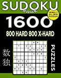 Sudoku Book 1,600 Puzzles, 800 Hard and 800 Extra Hard: Bargain Size Sudoku Puzzle Book With Two Levels of Difficulty To Improve Your Game: Volume 47 (Sudoku Book Series 2)