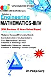 Solution to Engineering Mathematics-III/IV (With Previous 10 Years Solved Papers) Strictly as per the latest syllabus prescribed by M.D.U., G.J.U.S.T., K.U.K. & DCRUST, Murthal