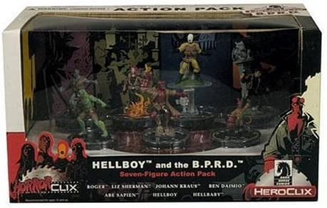 Dark Horse HorrorClix/ Heroclix Hellboy and the B.P.R.D. Action Pack by Wizard Of The Coast (English Femmeual) | Exquise (in) De Fabrication