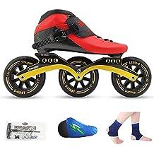 LIUXUEPING Patines, Zapatos De Patinaje De Velocidad, Zapatillas De Carreras, Patines Profesionales para