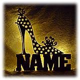 Schlummerlicht24 Motiv Lampe Schuhe Deko Geschenke mit Namen lustige witzige