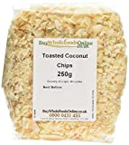 Buy Whole Foods Coconut Chips Toasted 250 g