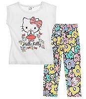 Pantaloni con cintura elasticizzata comoda; Grossa stampa; stampa all-over; Stampa con effetto glitter; Istruzioni di lavaggio: in lavatrice a 40°; T-Shirt: 100% cotone / Leggins 95% cotone, 5% elastan; jersey