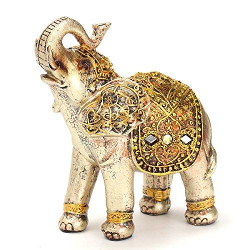 z Mini Exotische Elefanten Ornamente Elefanten Home Office Dekoration Dekorative Hardware New Hot ()