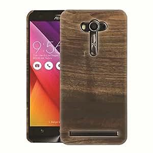 mStick Wooden Board 42 Printed Back Cover Case For Asus Zenfone 2 Laser ZE550KL 5.5 Inch