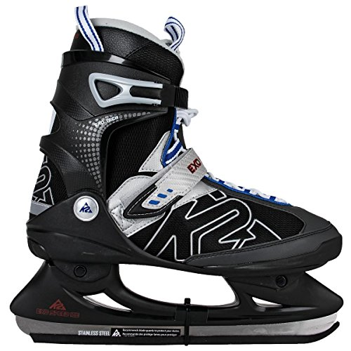 Intersport Eish-Complet Exo Speed Ice Skates - black, PVC and Mesh material, 11.5