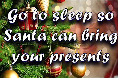 Go to sleep so Santa can bring your presents: Santa flies high in the sky (Books for Young Readers Book 1) (English Edition)