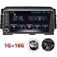 D-NOBLE Autoradio GPS Android 6.0.1 Car DVD Player 1G+16G for Nissan Kicks/Micra 2017 GPS Navigation System with Carplay/Bluetooth/Dual-zone Navi/Mirror Link