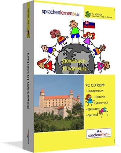 Slowakisch-Kindersprachkurs von Sprachenlernen24: Kindgerecht bebildert und vertont für ein spielerisches Slowakischlernen. Ab 5 Jahren. PC CD-ROM für Windows 10,8,7,Vista,XP/Linux/Mac OS X