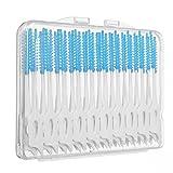 Vococal 40 Stk Elastische Interdentalzahnbürsten/Massage Gum Interdentalkeile Zahnstocher Pinsel Cleaning Tool