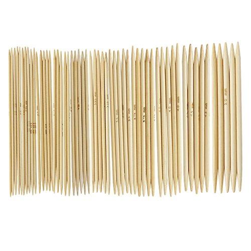 """11 Sätze 4.9 """"Bamboo Strickhandschuhe Tricknadeln 2,0 - 5,0 mm US 0-8"""